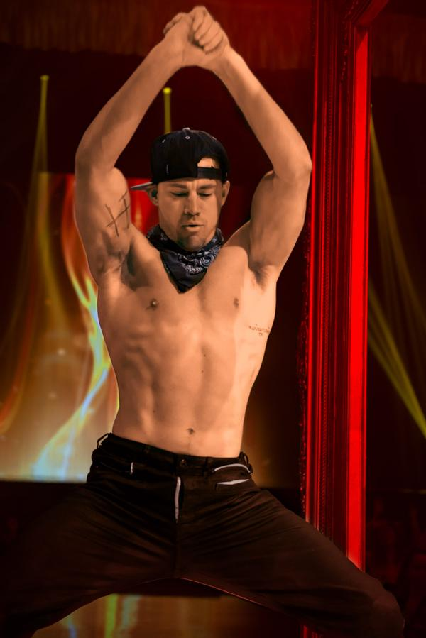 Channing Tatum | Photo @magicmikemovie/Twitter