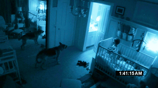 So many places for a demon to appear!: Paranormal Activity 2