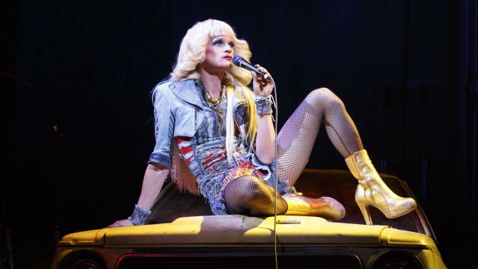 Neil Patrick Harris as Hedwig in Hedwig and the Angry Inch