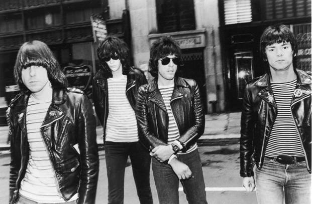 The Ramones do subcultural style circa 1976