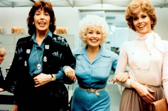 Behold the sisterhood of Lily Tomlin, Dolly Parton and Jane Fonda in 9 to 5 (1980)
