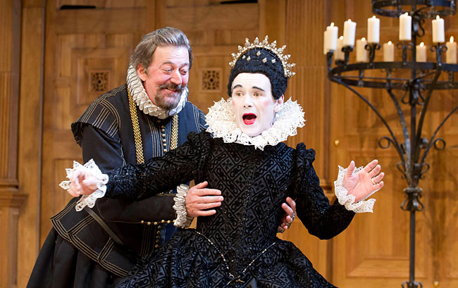 Stephen Frye and Mark Rylance in the RSC's Twelfth Night
