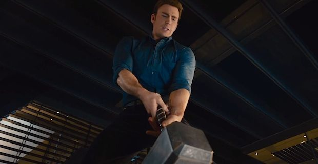 Avengers dick-size contest ft. Thor's hammer