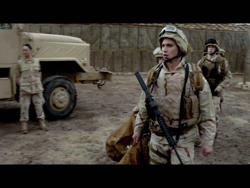 Army Bennett action figure, ooh shiny