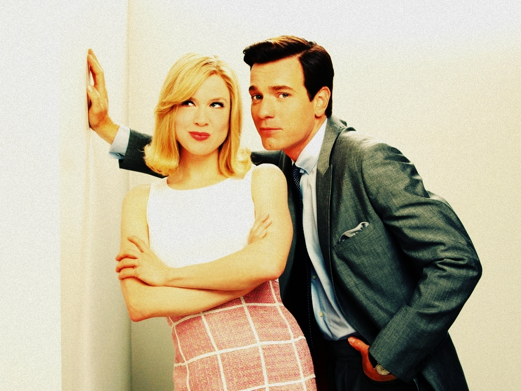 Renee Zellweger and Ewan McGregor in Down with Love | Image from fanpop.com