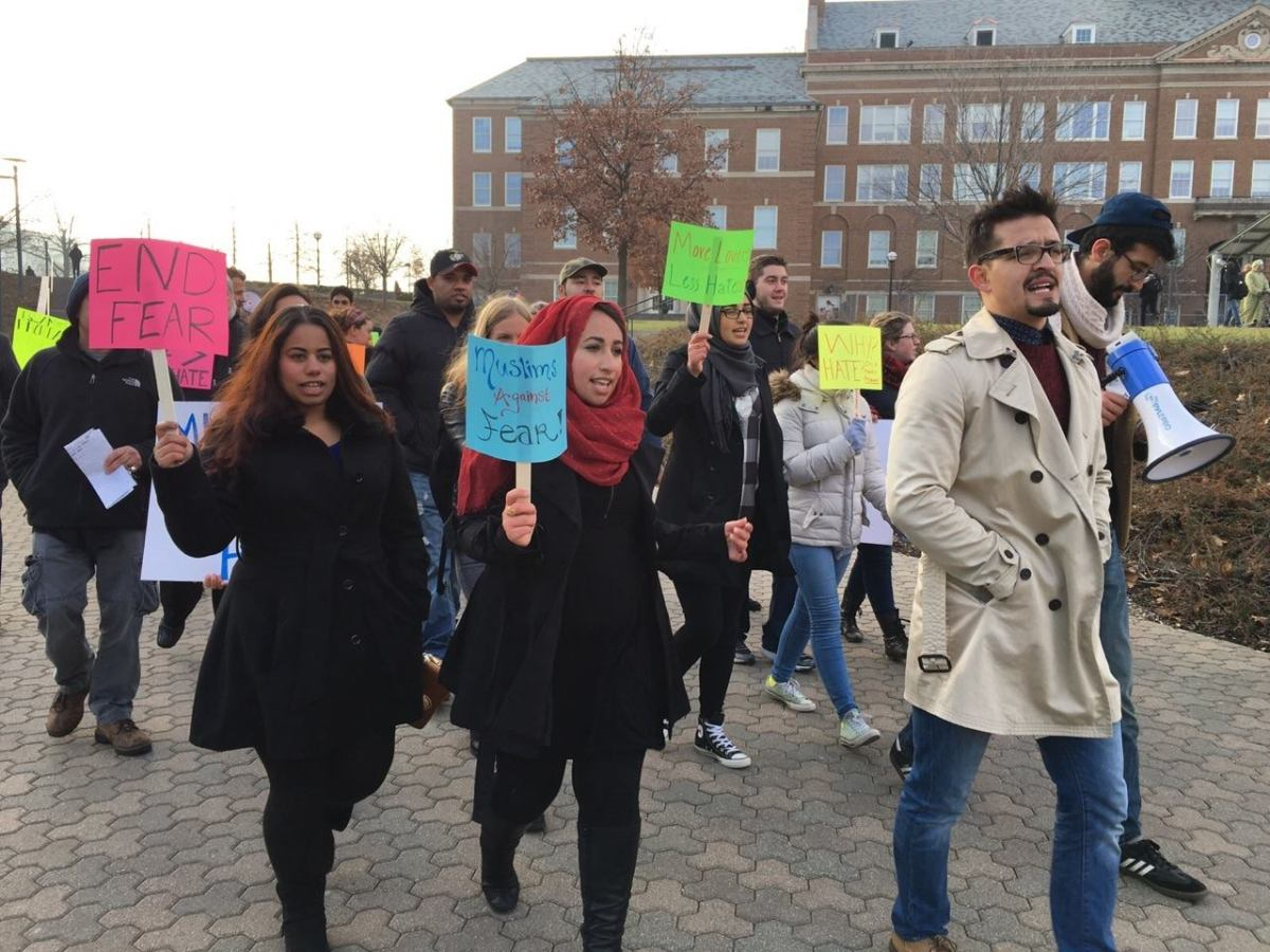 Activist Spotlight: Haneen Jasim and Brianne Cain, Organizers of University of Cincinnati's Anti-Islamophobia March/Rally
