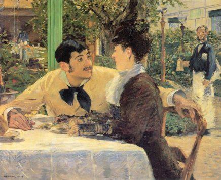 Boys in Cafés