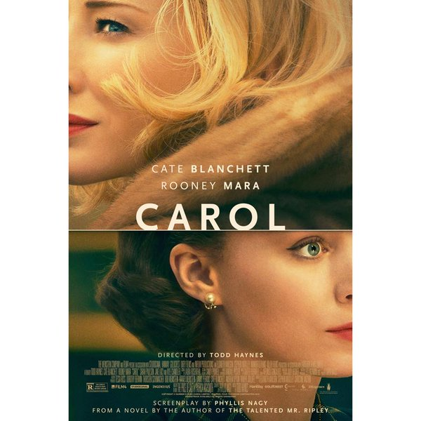 At The Movies: Carol (2015)