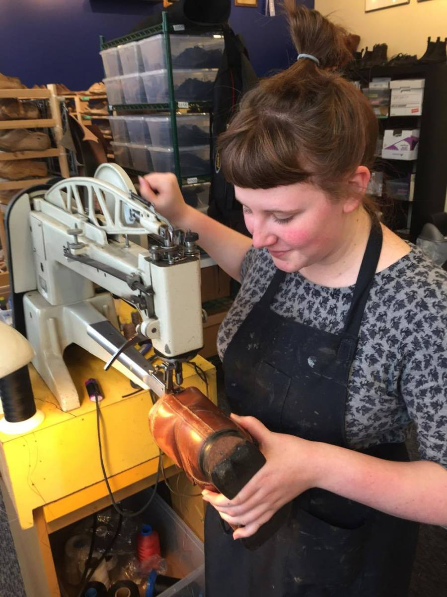 Women at Work: Tess (Cobbler/Shoemaker)